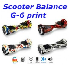 Сигвей G-6 print mini segway smart power board scooter balance мини герocкутер